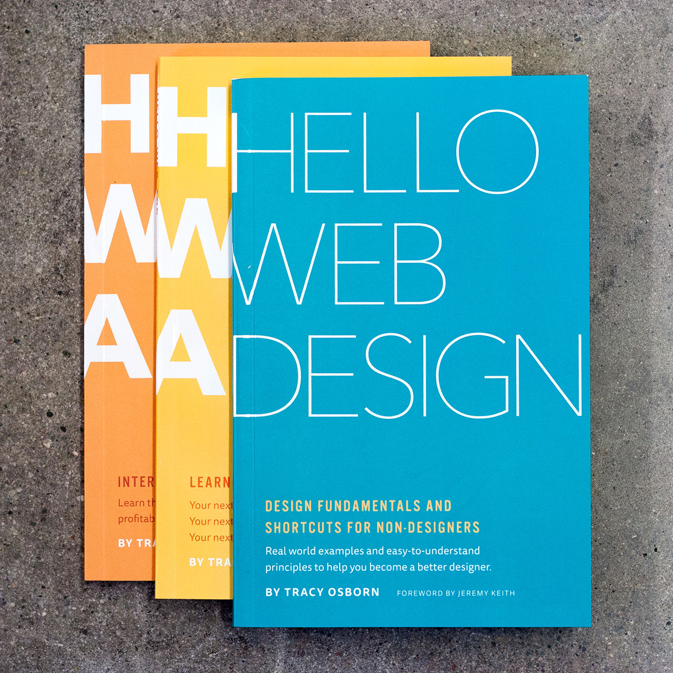 Hello Web Books paperbacks