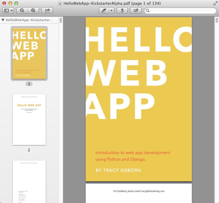 Hello Web App Pdf
