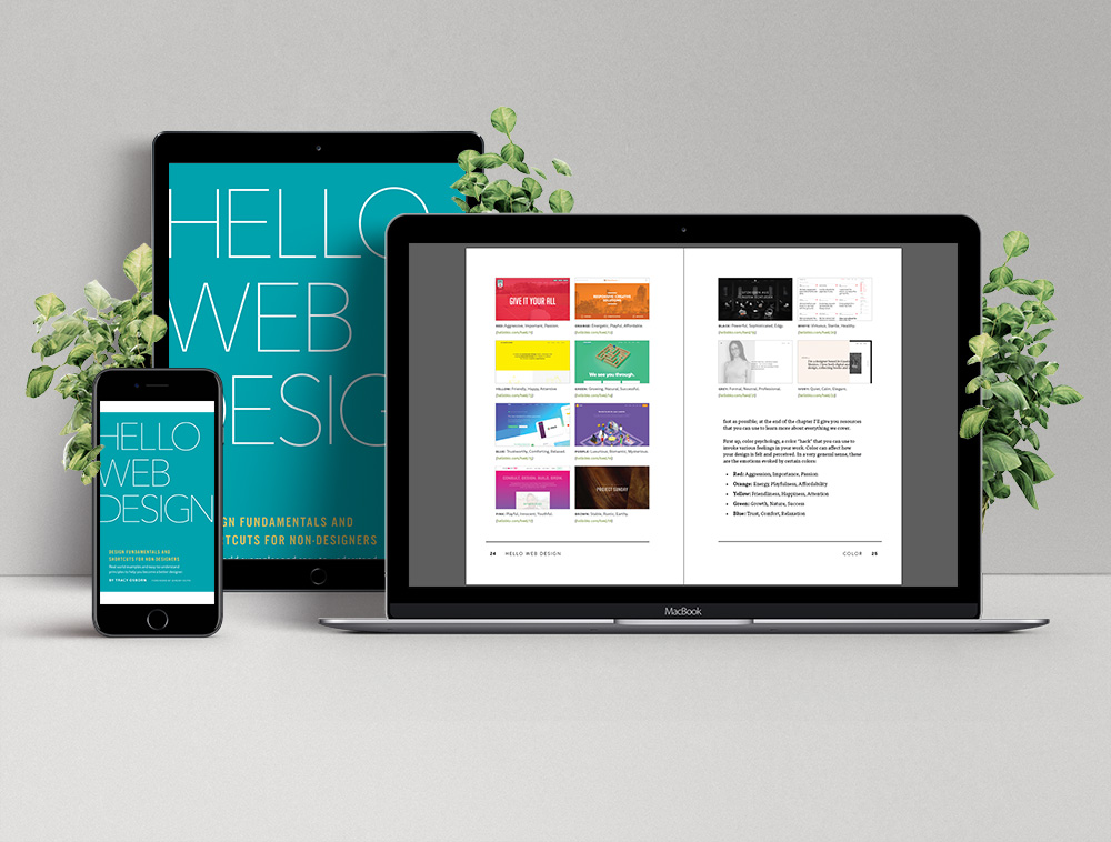 Learn web design fundamentals and shortcuts with hello web design hello web books for How to learn web designing at home free