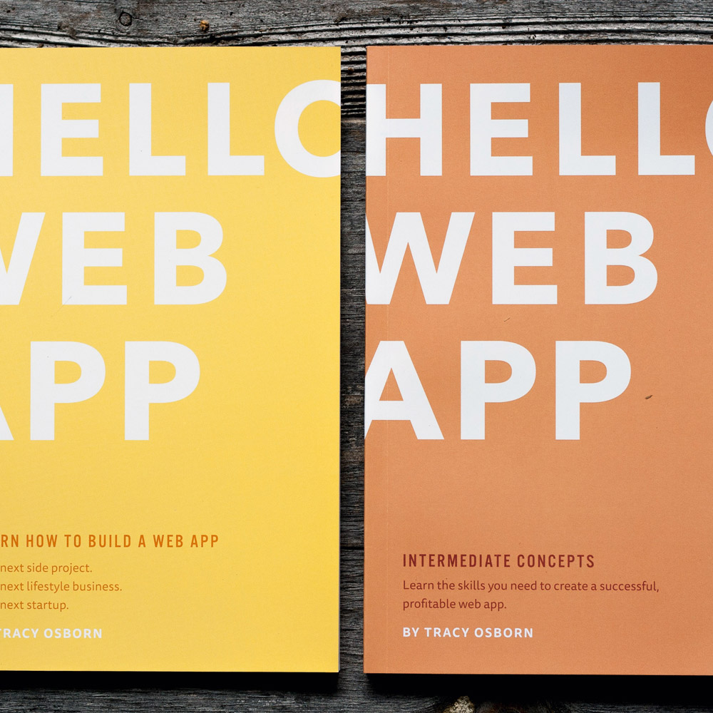 Hello Web App combo paperback package