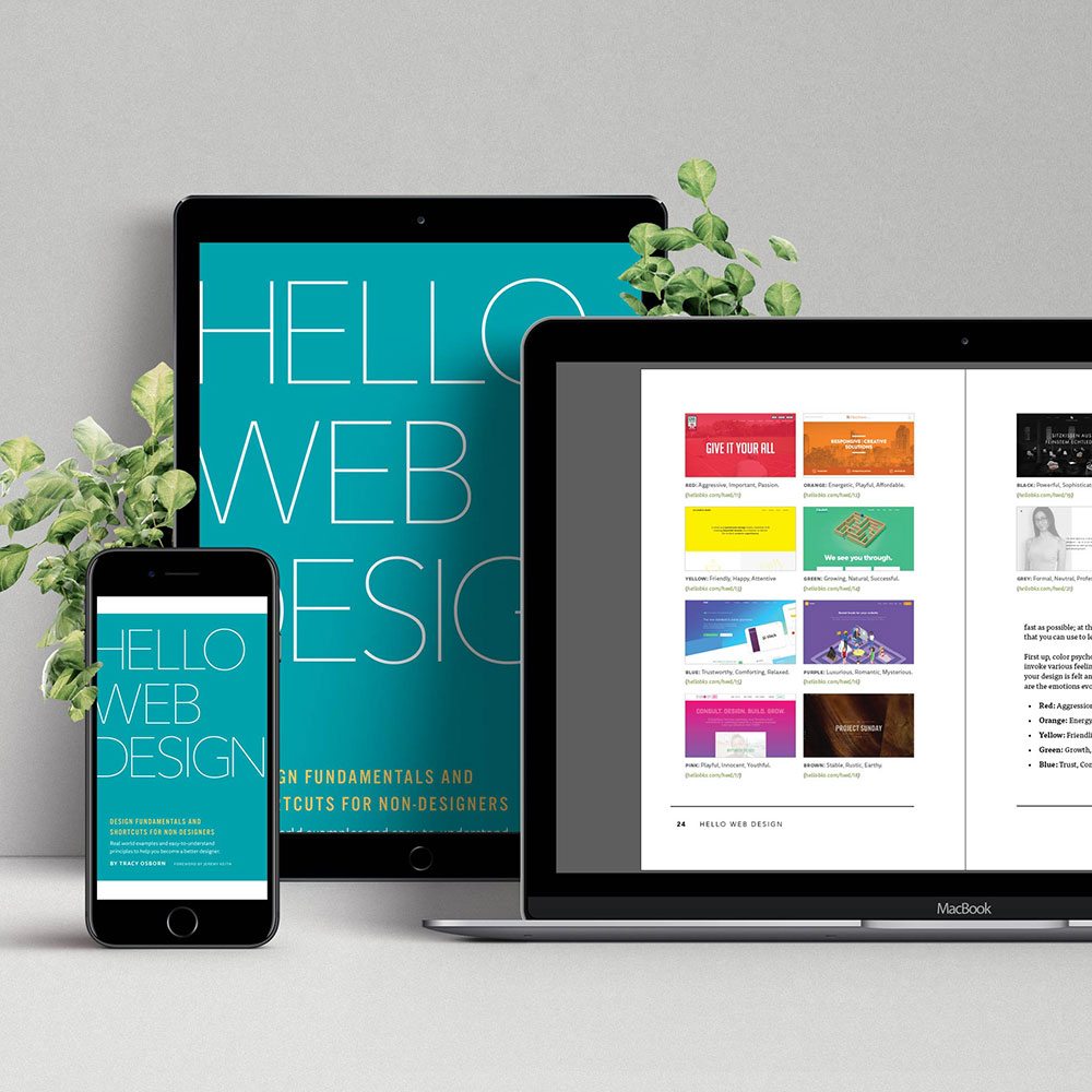 Hello Web Design ebook package
