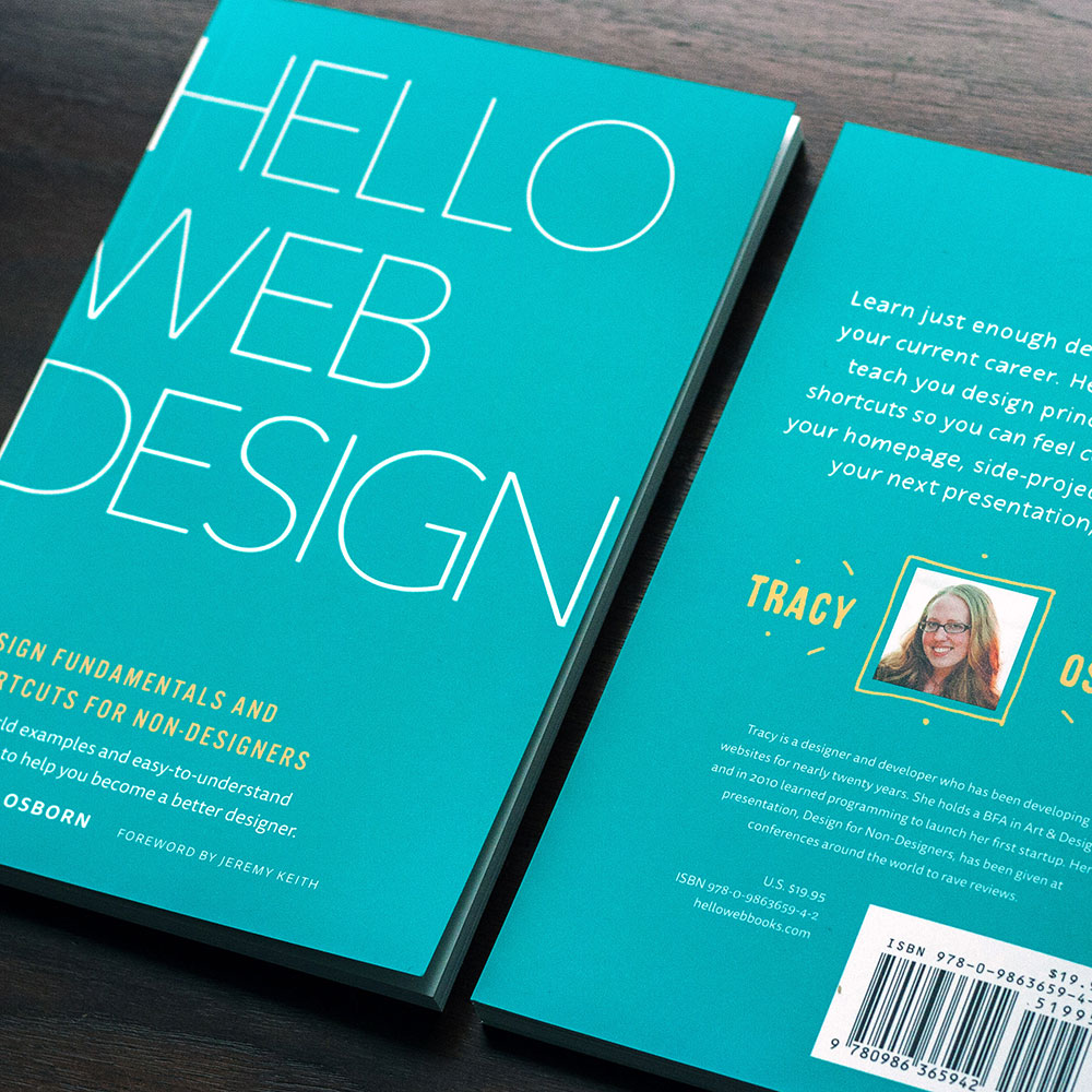 Hello Web Design paperback package