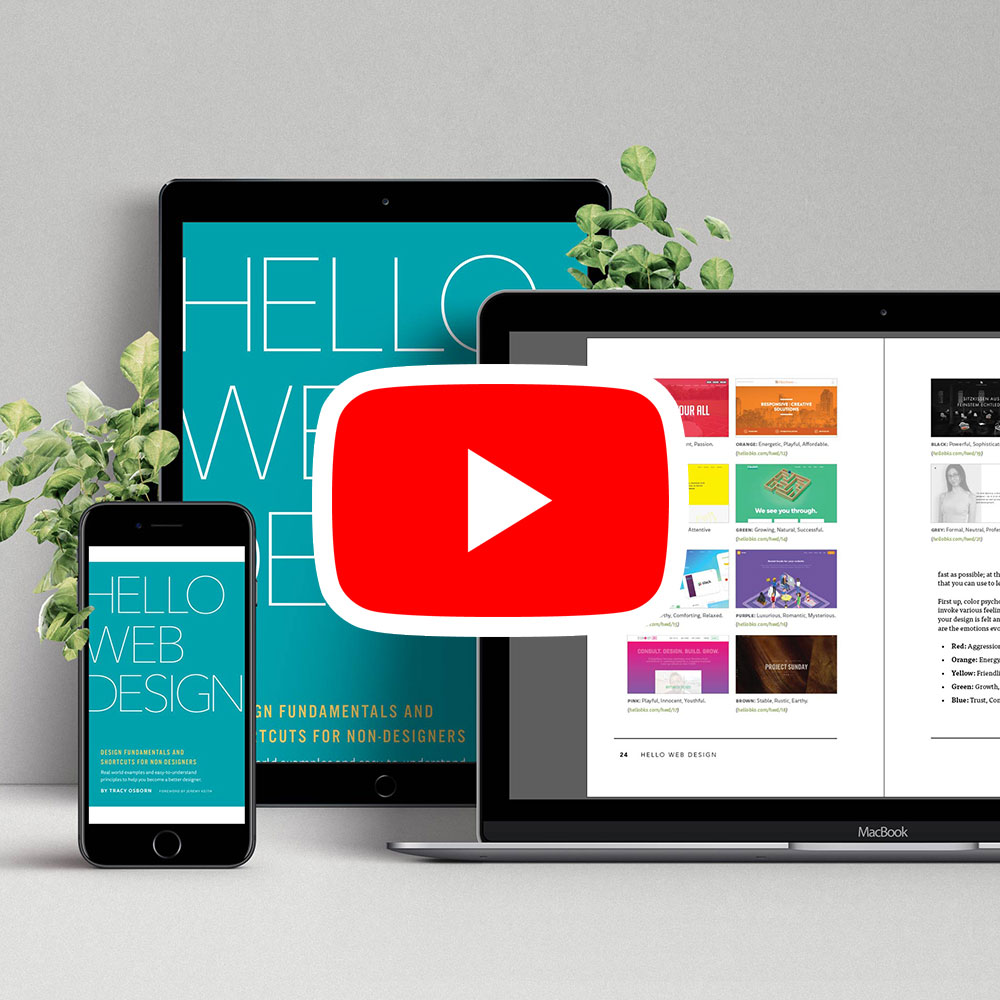 Hello Web Design video package