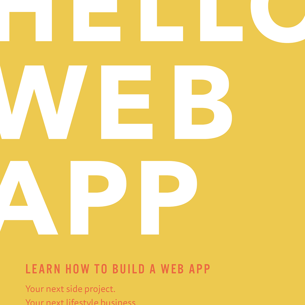 Hello Web App original ebook package