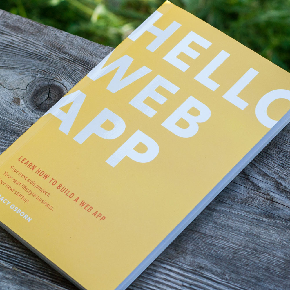 Hello Web App original paperback package
